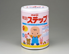 粉ミルク「明治ステップ」から放射性セシウム検出