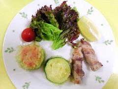 ズッキーニレシピ3種(ズッキーニの豚肉巻き、ズッキーニと明太子・チーズの揚げ物)