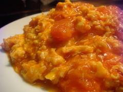 中華レシピ4点(春雨と鶏皮のスープ ・トマトともやしの中華風オムレツ ・マーボー茄子 ・レタスチャーハン)