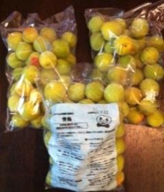 農薬不使用の梅で作る自家製『梅シロップ』で 子供も飲める梅ジュース☆