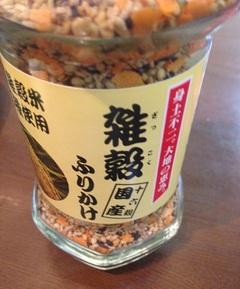 朝食をあまり食べない長女のために雑穀ふりかけを購入しました