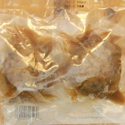 山芋とれんこんのシャキシャキ肉団子の裏側パルシステムの冷凍食品