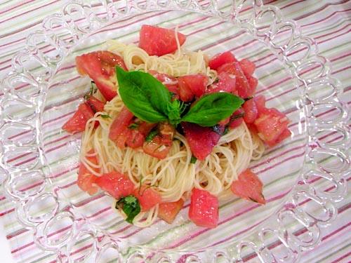 たっぷりトマトの冷製パスタ レシピ