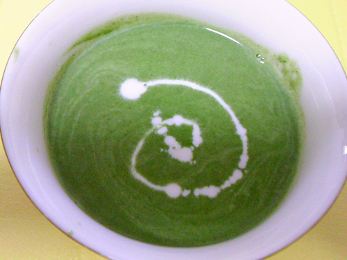 ほうれん草のポタージュ(スープ<br />